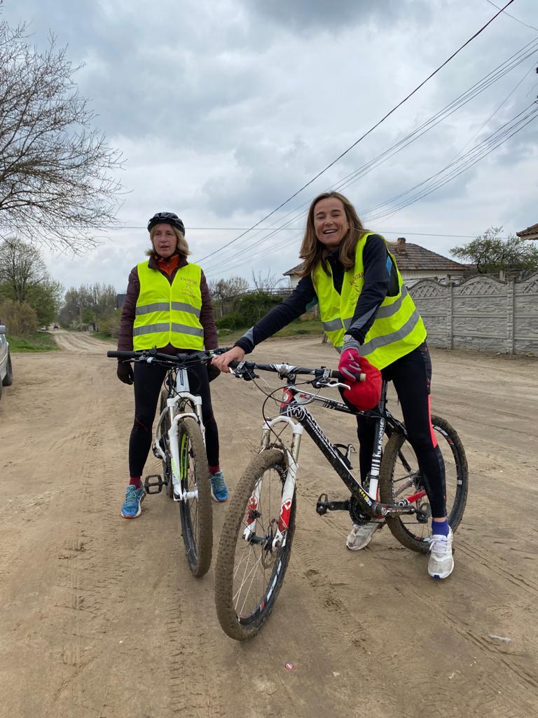 Casiopeea repérage vélo Roumanie