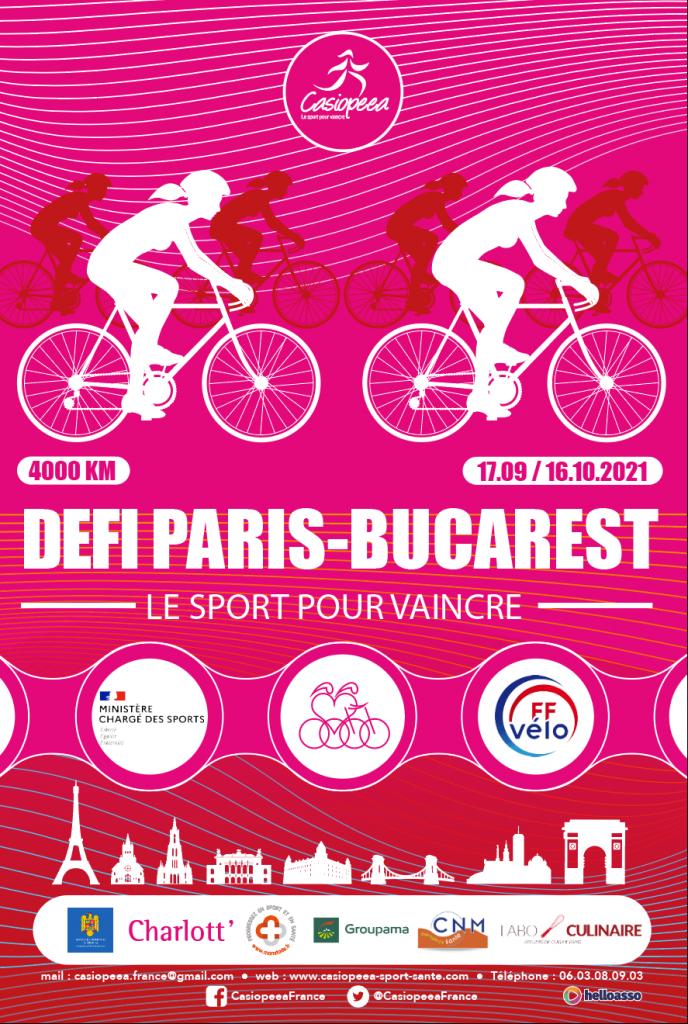 Défi Paris Bucarest Casiopeea