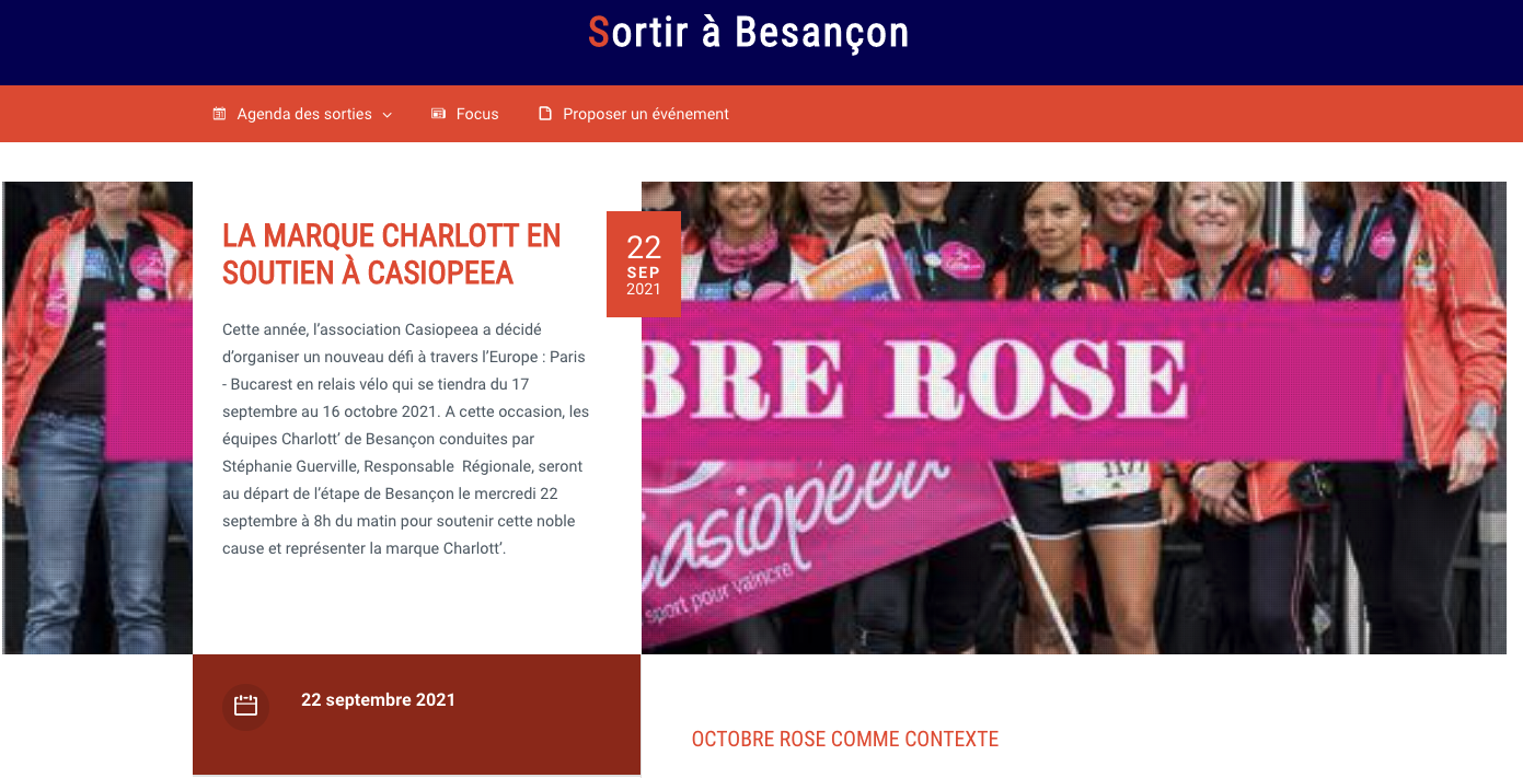 Sortir à Besançon